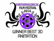 Winner Best 3D Animation - Phantasmagorical Film Festival 2016